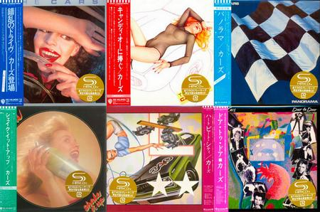 The Cars - Promo Box: 6 Albums Mini LP SHM-CD (2012) {Warner Music Japan, Remastered} Repost