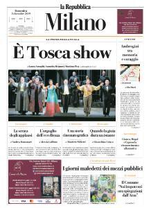 la Repubblica Milano - 8 Dicembre 2019