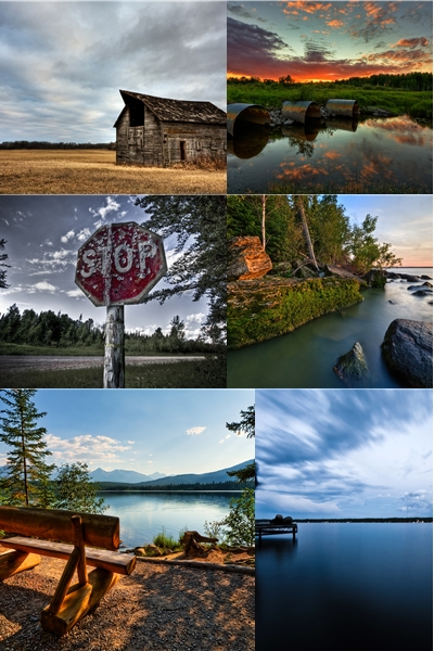 Photoworks by Scott Kroeker (HDR set)