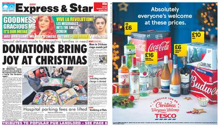 Express and Star City Edition – December 22, 2018
