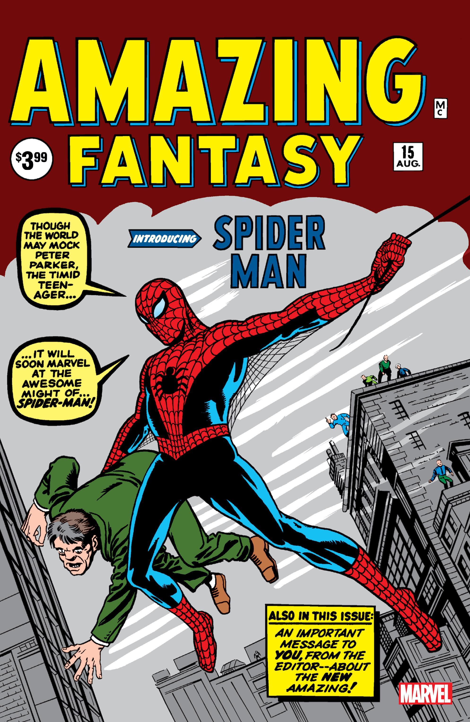 Amazing Fantasy 015-Facsimile Edition 1962 Digital Shadowcat