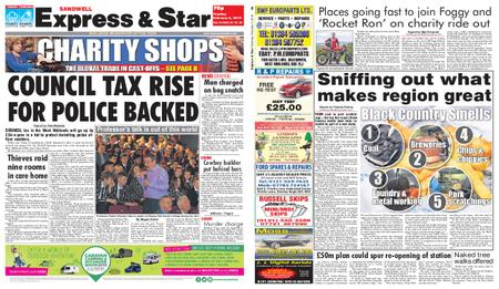 Express and Star Sandwell Edition – February 05, 2019
