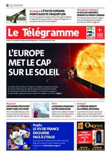 Le Télégramme Quimper – 10 février 2020