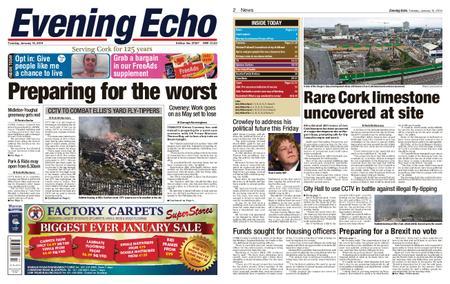 Evening Echo – January 15, 2019