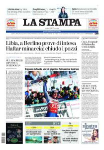 La Stampa Milano - 19 Gennaio 2020
