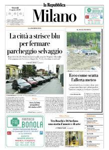 la Repubblica Milano - 8 Agosto 2019