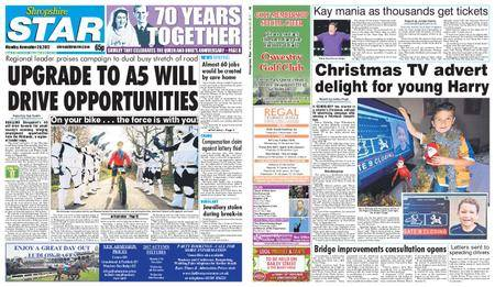 Shropshire Star Shrewsbury Edition – November 20, 2017