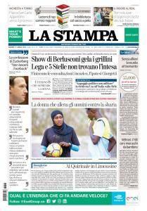 La Stampa Torino Provincia e Canavese - 13 Aprile 2018