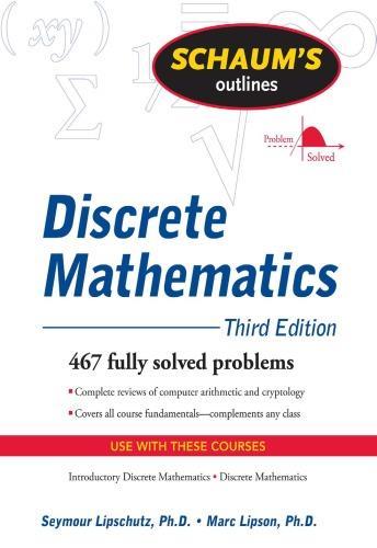 Schaums Outline of Discrete Mathematics, Revised Third Edition