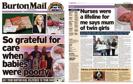 Burton Mail – May 11, 2020