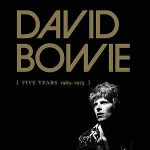 David Bowie - Five Years 1969-1973 (2015) {12CDs Box Set Parlophone}