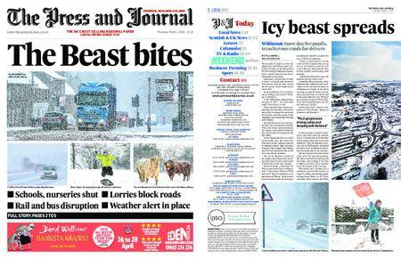 The Press and Journal Moray – March 01, 2018