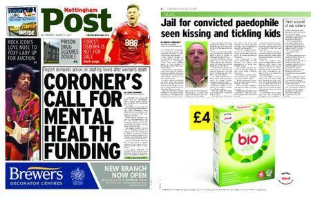 Nottingham Post – August 31, 2017