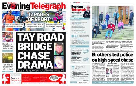 Evening Telegraph First Edition – November 09, 2018