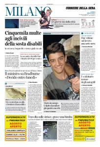 Corriere della Sera Milano – 10 agosto 2019