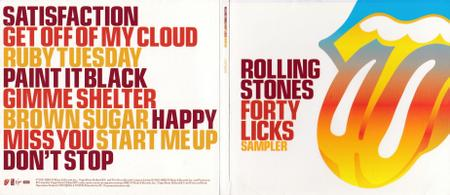 The Rolling Stones - Forty Licks Sampler (2002)