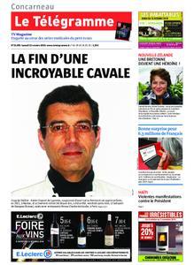 Le Télégramme Concarneau – 12 octobre 2019