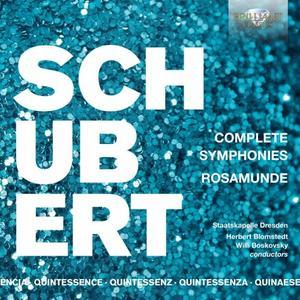 Staatskapelle Dresden & Herbert Blomstedt - Quintessence Schubert: Complete Symphonies, Rosamunde (2019)