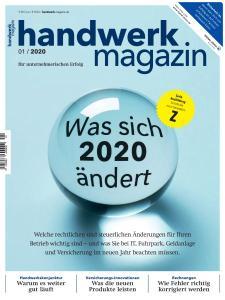 Handwerk Magazin - Januar 2020