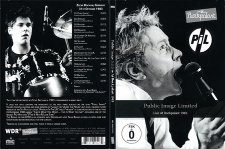 Public Image Limited - Live At Rockpalast 1983 (2012)
