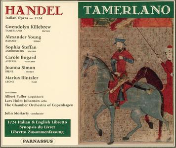 John Moriarty, The Chamber Orchestra of Copenhagen - Handel: Tamerlano (2002)