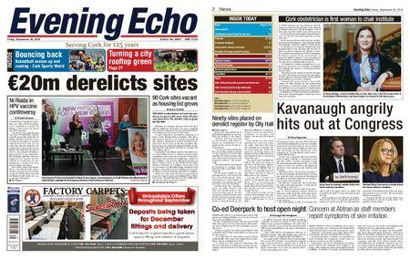 Evening Echo – September 28, 2018