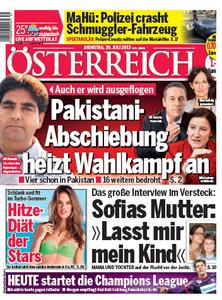 Österreich - Dienstag, 30 Juli 2013