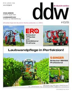 Der Deutsche Weinbau - 10. Mai 2019