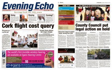 Evening Echo – October 24, 2017