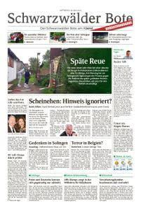 Schwarzwälder Bote Hechingen - 30. Mai 2018