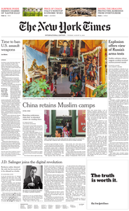 International New York Times - 13 August 2019