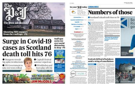 The Press and Journal Aberdeen – April 02, 2020