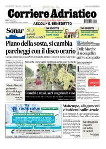 Corriere Adriatico Ascoli - 4 Settembre 2019