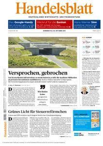 Handelsblatt - 06. Oktober 2016