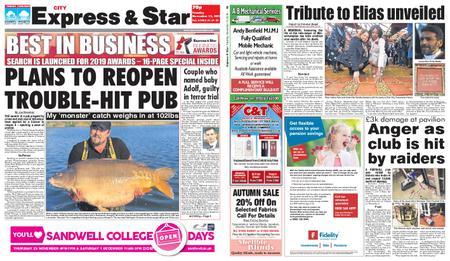 Express and Star City Edition – November 13, 2018
