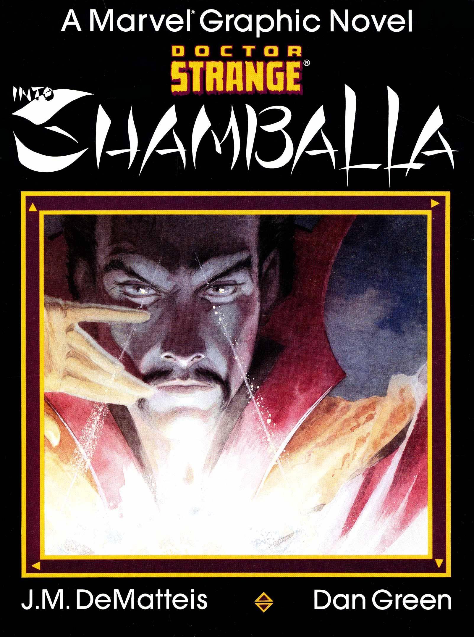 Marvel Graphic Novel 23 - Dr Strange - Into Shamballa