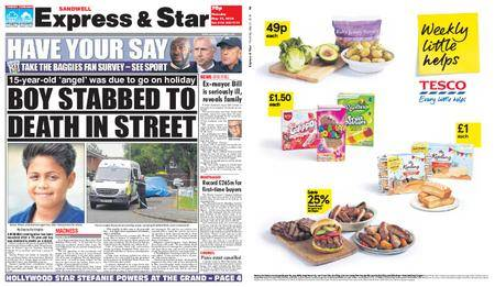 Express and Star Sandwell Edition – May 31, 2018
