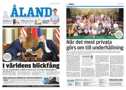 Ålandstidningen – 17 juli 2018