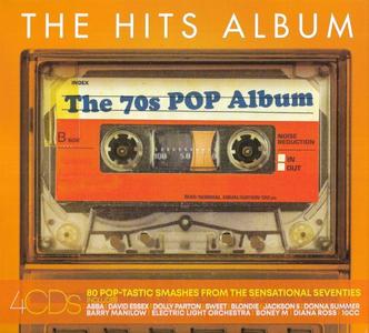 VA - The Hits Album - The 70s Pop Album (4CD, 2019)