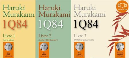 """Haruki Murakami, """"1Q84"""", tomes 1-3"""