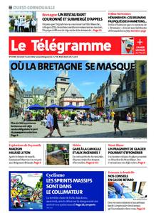 Le Télégramme Ouest Cornouaille – 07 août 2020