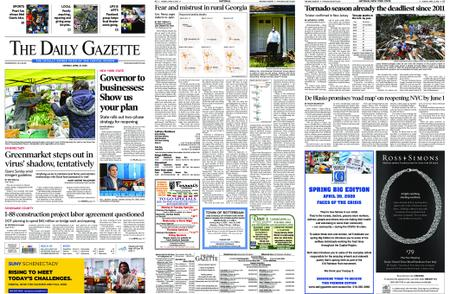 The Daily Gazette – April 27, 2020