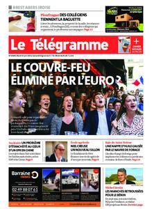 Le Télégramme Brest Abers Iroise – 15 juin 2021