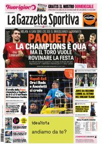 La Gazzetta dello Sport Roma – 09 dicembre 2018
