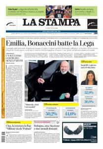 La Stampa Roma - 27 Gennaio 2020