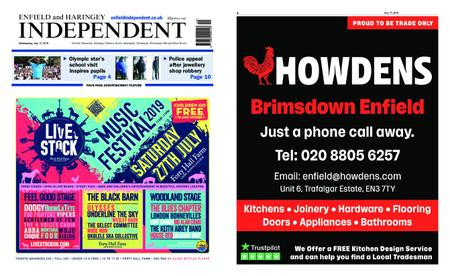 Enfield Independent – July 17, 2019