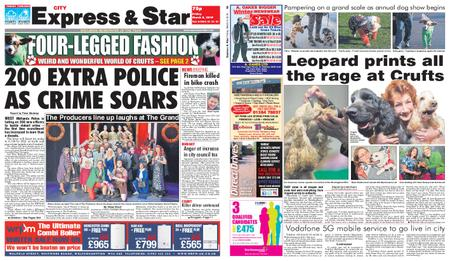 Express and Star City Edition – March 08, 2019