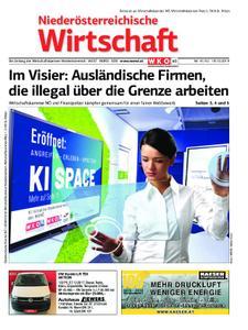 Niederösterreichische Wirtschaft – 18. Oktober 2019