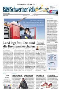 Schweriner Volkszeitung Hagenower Kreisblatt - 19. Mai 2020
