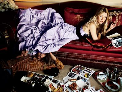 Gwyneth Paltrow by Mario Testino for Vogue US October 2005